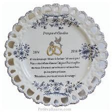 poeme 50 ans de mariage noces d or assiette de mariage modèle tournesol bleu poème noces d émeraude
