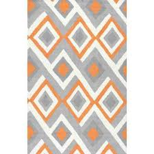 Area Rug 4 X 6 4 X 6 Orange Area Rugs Rugs The Home Depot
