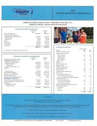 annual reports children u0027s square u s a
