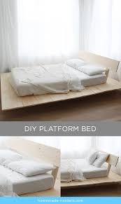 Diy Platform Bed Frame With Storage by Homemade Modern Ep89 Platform Bed