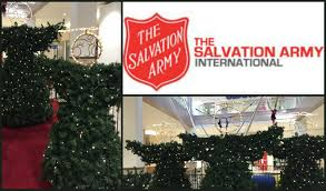 christmas tree angels salvation army christmas lights decoration