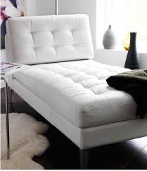 Ikea Chaise Lounge White Leather Karlstad Ikea Chaise Lounge With Metal Legs