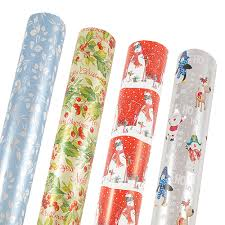 sided christmas wrapping paper mega size premium christmas wrapping paper jam paper