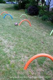 pool noodle soccer ball kid u0027s croquet down home inspiration
