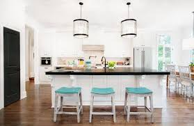 kitchen counter design ideas kitchen turquoise counter stools with white kitchen island black