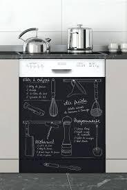 sticker meuble cuisine stickers ardoise pour cuisine sticker ardoise frigo tablier