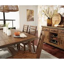 plank top dining room tables hand crafted 66 inch plank top