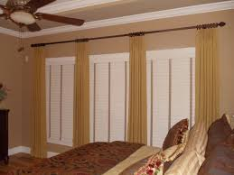 Decorative Traverse And Stationary Drapery by Inspirations Add Drapery Panels For Your Home Accessories Ideas