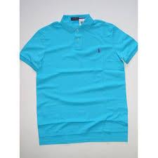 ralph lauren light blue ralph lauren men s soft touch interlock polo shirt light blue size