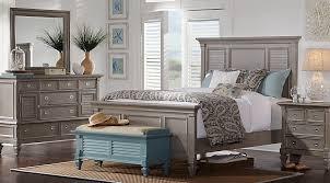 belmar gray 7 pc king panel bedroom king bedroom sets colors
