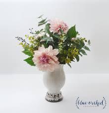 flower arrangements home decor silk flower arrangement with vase floral arrangement eucalyptus