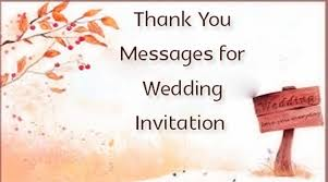 wedding invitations for friends thank you messages for wedding invitation