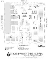 Public Floor Plans by Mount Prospect Public Library Book Return And Floor Plans