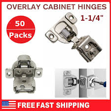 how to replace cabinet hinges 50 packs 1 1 4 overlay soft frame compact
