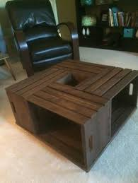 Coffee Table Out Of Pallets by Coffee Table I Made Out Of Pallet Wood 1