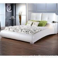 Single Leather Bed Frame Brilliant Limelight Pulsar White 3ft Single Faux Leather Bed Frame