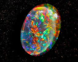 Opal Wedding Ring by Opal Engagement Ring Etsy