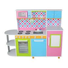 jeu de cuisine avec cuisine en bois enfant avec four évier horloge micro