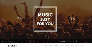 20 top notch html and bootstrap music website templates free and