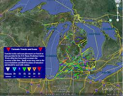 Tornado Map 2012 Googlearth Day