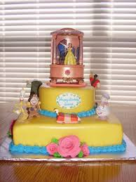 beauty and the beast birthday cake decorations image inspiration