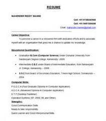 Sample Resume Formats For Freshers by Perfectresumeformatforfreshers Awesome One Page Resume Sample For