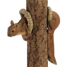amazon com gifts u0026 decor squirrel yard statue tree faces