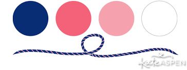 nautical colors color inspiration pink navy prep with free printables kate