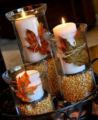 table centerpieces with candles decorating thanksgiving table tips and tricks interior design