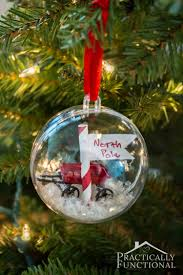 diy north pole ornaments practically functional