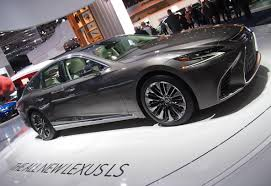 lexus v8 with twin turbo lexus ls for 2018 is longer lower wider u0026 more exciting u2013 drive