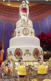 beauty beast cake johnson clark wedding today