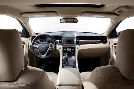 Taurus Sho Interior 2015 Ford Taurus Overview Cars Com