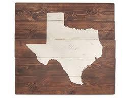 Rustic Texas Home Decor Amazon Com Rustic Texas Wall Art State Sign Home Decor Map Art