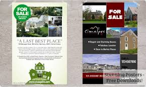 house for sale flyer template download a free sample flyer real