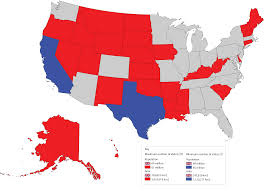 United States Map By Population by The Uk Has More People Than The 27 Least Populous Us States