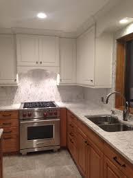 Kitchen Sink With Backsplash My Kitchen Re Do Quartz Backsplash Nina In The Kitchen