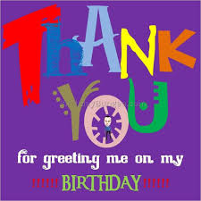 thank you for birthday wishes 1 best birthday resource