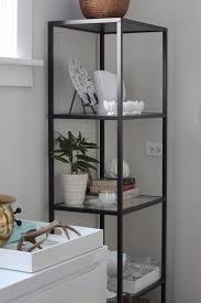 modern dining room vittsjo shelves