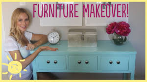 Old Furniture Makeovers Diy Furniture Makeover Easy How To Youtube