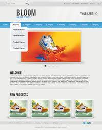design a professional e commerce template photoshop tutorial