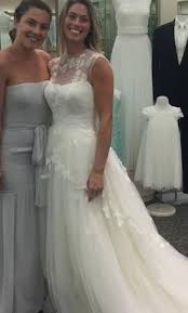 illusion neckline wedding dress vera wang white illusion neckline wedding dress 350 size 4