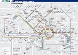 Us Time Zone Map Pdf by Frankfurt Nahverkehr Map Frankfurt U2022 Mappery