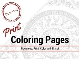 How To Print Coloring Pages For Adults The Coloring Book Club Printing Color Pages