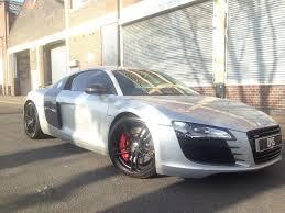 Audi R8 Nardo Grey - audi r8 2008 4 2 fsi v8 coupe 2 door petrol r tronic quattro full