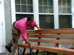 Metal Deck Bench Brackets - deck bench seat video diy