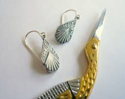 silver drop earrings silver drop earrings etsy