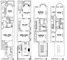 Brooklyn Brownstone Floor Plans Emily Blunt And John Krasinski Selling Four Story Remodeled Townhouse