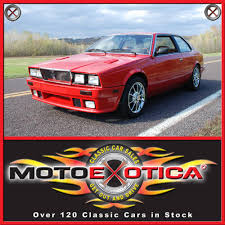 old maserati biturbo 1985 maserati biturbo motoexotica classic car sales