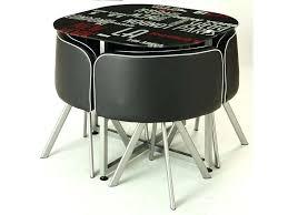 table de cuisine avec chaise table cuisine chaise encastrable with table pliante avec chaises